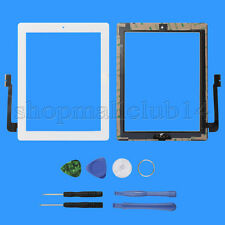 Weiß für iPad 3 Touch screen Glas Homebutton Scheibe Digitizer Display Werkzeuge