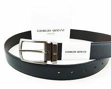 Giorgio Armani Reverisble Leather Belt with gift Box