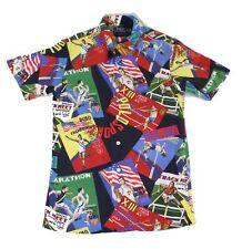 Polo Ralph Lauren Mens Shirt Blue Size 2XL Sport Custom Fit Button Down $168 246
