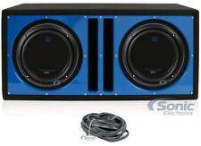 """2) Planet Audio AC10D 10"""" 3000W Dual 4-OHM Car Subwoofers+Vented Enclosure"""