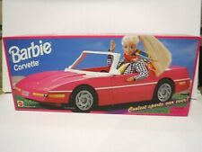 CHEVROLET CORVETTE - PINK - BARBIE - 1995 - BRAND NEW - MNRFB