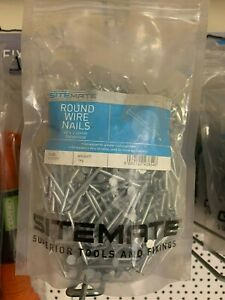 Sitemate Round Wire Nails - varies sizes
