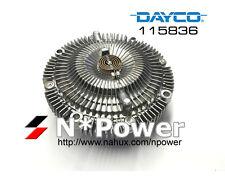 DAYCO 115836 FAN CLUTCH FOR NISSAN SKYLINE BNR32 GTR RB26DETT 2.6L TWIN TURBO
