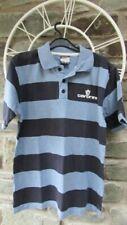 Boys Polo Shirt, 12-13 years, Blue Striped, Carbrini