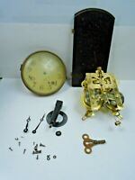 New Haven 8 Day Mantel Clock (AS FOUND) (For Restoration or Parts) w/Chime Rod