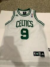 NBA RAJON RONDO BOSTON CELTICS JERSEY ADIDAS  WHITE BOYS YOUTH M (10/12) +2 Leng