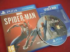 SPIDER-MAN PLAYSTATION 4 GAME COMPLETE WITH MANUAL