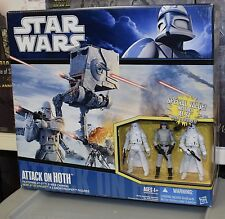Star Wars Attack on Hoth avec AT-ST Driver & 2 snowtroopers Empire Strikes Back