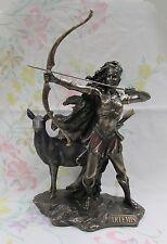Roman Goddess Diana Greek Artemis the Huntress Archery Statue #WU75674A4