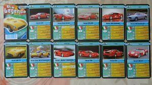 Quartett Auto Ferrari Enzo Ferrari GTO Ferrari 575 GTC Ferrari F50 Ferrari Dino