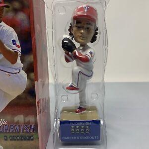 2013 Yu Darvish K Counter Red Bobblehead SGA 6/11/13 Texas Rangers MLB