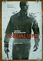 THE EQUALIZER Original 2014 Australian Advance One Sheet Movie Poster