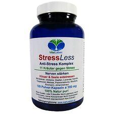 StressLess, 11 Kräuter Anti-Stress-Komplex, 120 Pulver-Kapseln a 350mg, #25811