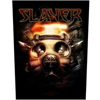 Slayer Gas Mask Official Back Patch Heavy Metal New