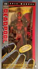 """Neca Epic Marvel 1/4 Scale 18"""" Deadpool Ultimate Figure #00 NIB"""