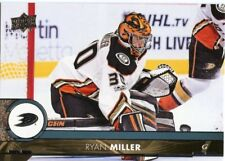 17/18 UPPER DECK BASE #256 RYAN  MILLER DUCKS