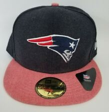 Official New England Patriots New Era 59FIFTY NFL Heather Storm Fitted 7 3/4 Hat