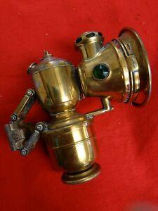 Joseph Lucas 'ACETA MAJOR' No. 314N Carbide Bicycle Lamp. Birmingham c1900
