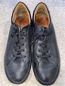 Herren Sneaker 👟von Geox in Gr. 42 schwarz Echt Leder (NEUwertig)