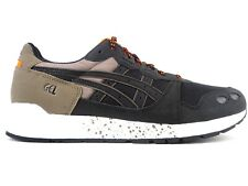 Mens Asics Gel Lyte 1191A146-251 Dark Taupe Black Laced Casual Trainers