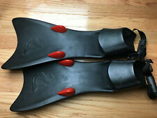 Excellerating Force Fin + Speed Pods, Diving Fins Scuba Snorkeling Large L Rare!