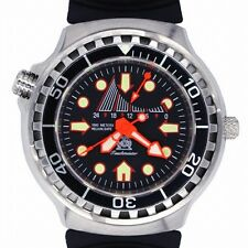 Retrograde GMT 100ATM HELIUM-SAFE-Ventil SAPHIR-GlasT249