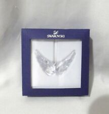 "Swarovski Crystal 5004494 Christmas Ornament ""Angel Wings"" 2.5"""