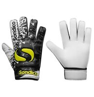 Boys Girls Sondico Football Match Soccer Goalkeeper Gloves Sizes from 2 to 6