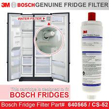 Bosch  Fridge filter  CS-52 GENUINE  3M CUNO MODEL  FITS KAN58A70AU