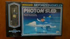 Vintage 1976 Micronauts Photon Sled Vehicle NM box/Sealed w/Blue Time Traveler