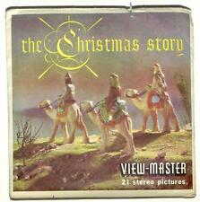 vintage SAWYERS View Master THE CHRISTMAS STORY reel CHRISTIAN Jesus BIBLE xmas