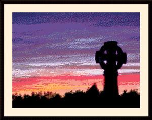Sunset CROSS STITCH KIT