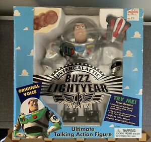 Rare Toy Story 1995 Buzz Lightyear Limited Edition Figure New In Box
