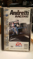 Andretti Racing (Sega Saturn, 1996)