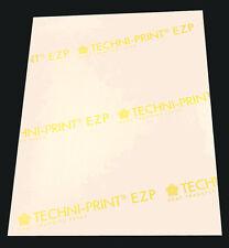 25p 8.5x11 Techni-Print EZP Laser Transfer Paper for light, heat press, iron-on
