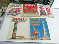 5-1962 MAD MAGAZINES COMICS Reading Copies, Gaines, Spy vs Spy rough cond MADS