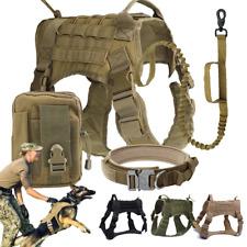 Tactical Dog Vest Harness - Pig Hunting Dog Gear - K9 Molle Army Training Vest