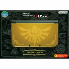 Nintendo New 3DS XL Launch Edition Gold Handheld System