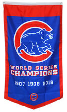 Chicago Cubs World Series Champions  Flag Banner Man Cave 30x50Inch