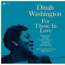 Dinah Washington - For Those In Love + 2 Bonus Tracks [New Vinyl] Bonus Tracks,