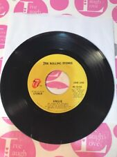 "THE ROLLING STONES:  ""Angie"" / ""Silver Train"" - 1973 RS#19105 45 RPM"