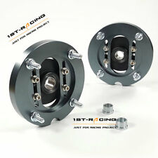 A SET CNC Aluminum Camber Caster Plates FOR 2005-2014 Ford Mustang Performance