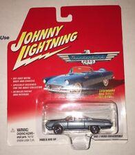 NEW 1961 Ford T Bird Convertible Johnny Lightning 1/64