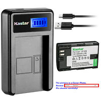 Kastar Battery LCD Charger for Canon LP-E6 LP-E6N LPE6 LPE6N LC-E6 Canon EOS 5DS