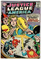 JUSTICE LEAGUE OF AMERICA  # 29 Key 1st SA Starman JSA Crisis Earth-Three VG