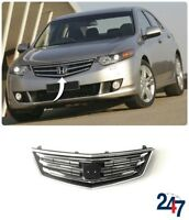 NEW HONDA ACCORD 2008 - 2011 FRONT UPPER CENTER GRILL WITH CHROME TRIM