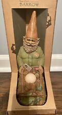 2003 Limited Edition Tom Clark Cairn Studio Green Thumb Gnomes~Barrow~, Nib