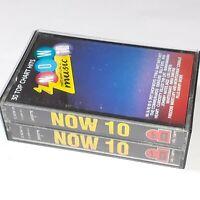 NOW THATS WHAT I CALL MUSIC 10 1987 DOUBLE CASSETTE TAPE ALBUM PET SHOP BOYS ABC