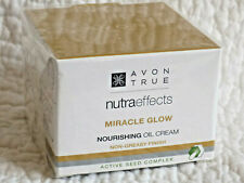 AVON TRUE ~ NUTRA EFFECTS ~ MIRACLE GLOW NOURISHING OIL CREAM ~ 50ml   *NEW*