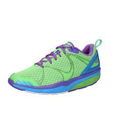 womens shoes MBT AFIYA 3,5 (EU 36) sneakers green textile dynamic AC494-36